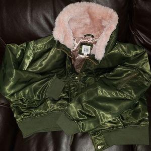 Gap Bomber Jacket Plus Size 2x
